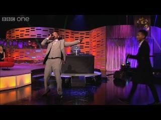 Уилл и Джейден Смит на шоу Грэма Нортона  24 мая 2013